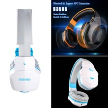 EACH B3505 Bluetooth four.1 Gaming Headphone Adjustable Wi-fi Gaming Earphone Casque Recreation Headset with MIC For PC Gamer