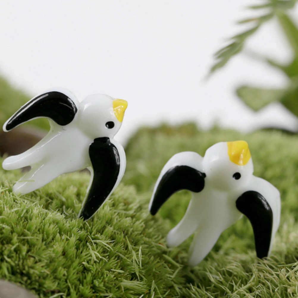 Упаковка из 10 очаровательных милых декоративных искусственных Ласточки декор для сказочной садовый Террариум Microlandschaft домашний декор A30