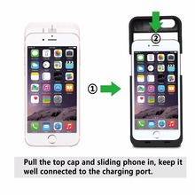 3800mAh Backup External Battery Case Charger Case Charging Power Bank Protective Cover Case For iPhone 6 6S 4.7″  Rechargeable