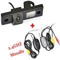 Para o Carro DVD Monitor de 2.4 Ghz Transmissor E Receptor Sem Fio Câmera de Visão Traseira de Backup Reversa Para Chevrolet Cruze EPICA CAPTIVA