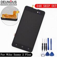 Новый для Wiko Солнечный 2 плюс ЖК-дисплей Дисплей и Сенсорный экран мобильного телефона Аксессуары для Wiko Солнечный 2 Plus + Инструменты