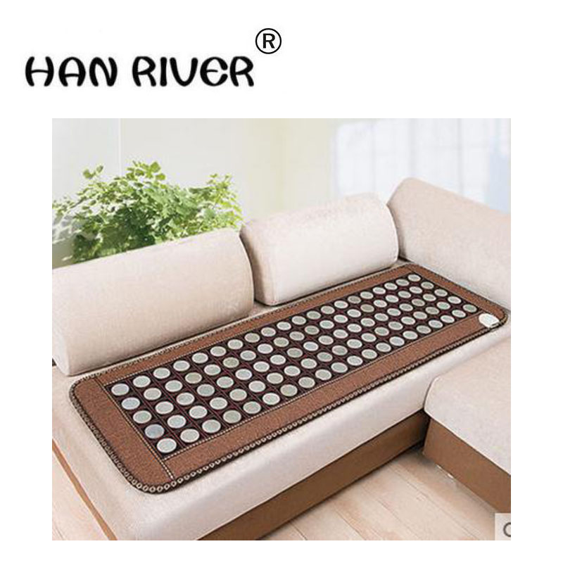 The new 2017 comfortable jade sofa cushion germanium stone ms tomalin cushion heating health massage cushion health protective d цена