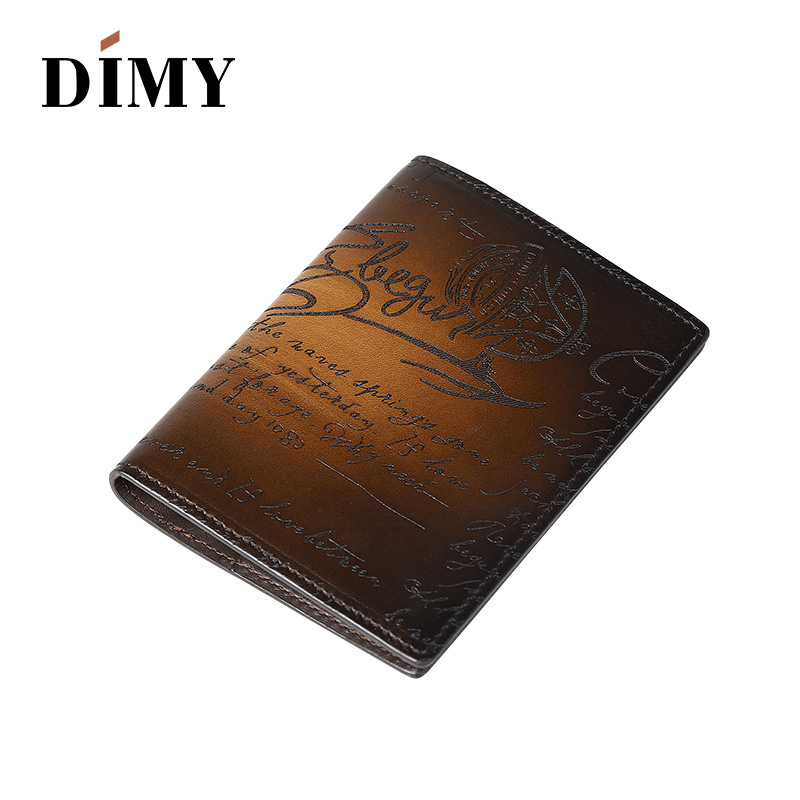 Dimy Fashion Leather Function Card Case Business Card Holder Men Women Credit Passport Holder Cover Card Bag ID Passport Wallet temena travel passport cover wallet travelus waterproof credit card package id holder storage organizer clutch money bag aph113