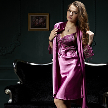 Xifenni Robe Sleepwear Set