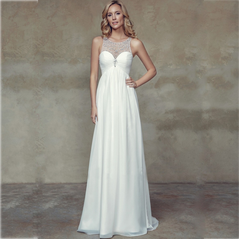 Online get cheap wedding dresses maternity for Inexpensive maternity wedding dresses