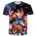 Cute Kid Goku/Gohan/Bulma Prints tshirts Classic Anime Dragon Ball Z Super Saiyan t shirts Men Women Summer Harajuku tee shirts