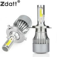 2Pcs Super Bright H4 Led Bulb 72W 7600Lm Headlights H1 H3 H7 H8 H9 H11 HB3