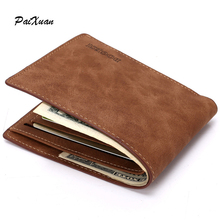 designer men wallets short slim brown Leather genuine wallet men money bag purse carteras cuzdan male purses Portfolio Men sale