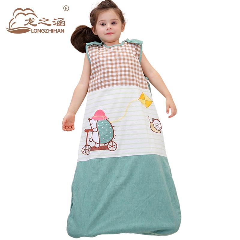 Baby Sleeping Bag Newborns Cotton Summer Children Sleep