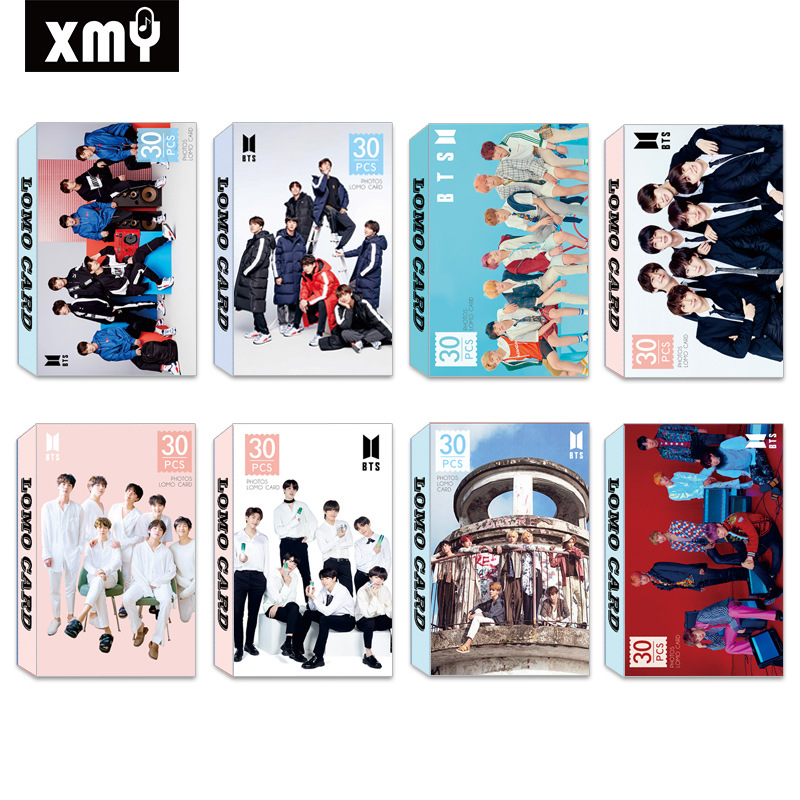 LOMO Card KPOP Group Bangtan Boys BTS Bt21 GOT7 TWICE BLACKPINK BNK48  Photocards Postcards Poster WANNA ONE Silk Bandana Crip Bandana From  Hiramee,