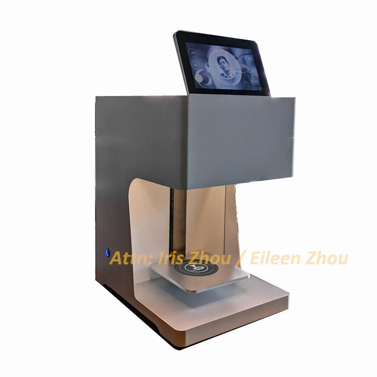 Ev Aletleri'ten Mutfak Robotları'de CINO ticari selfie 3D kahve yazıcı makinesi küçük vücut kahve yazıcı title=