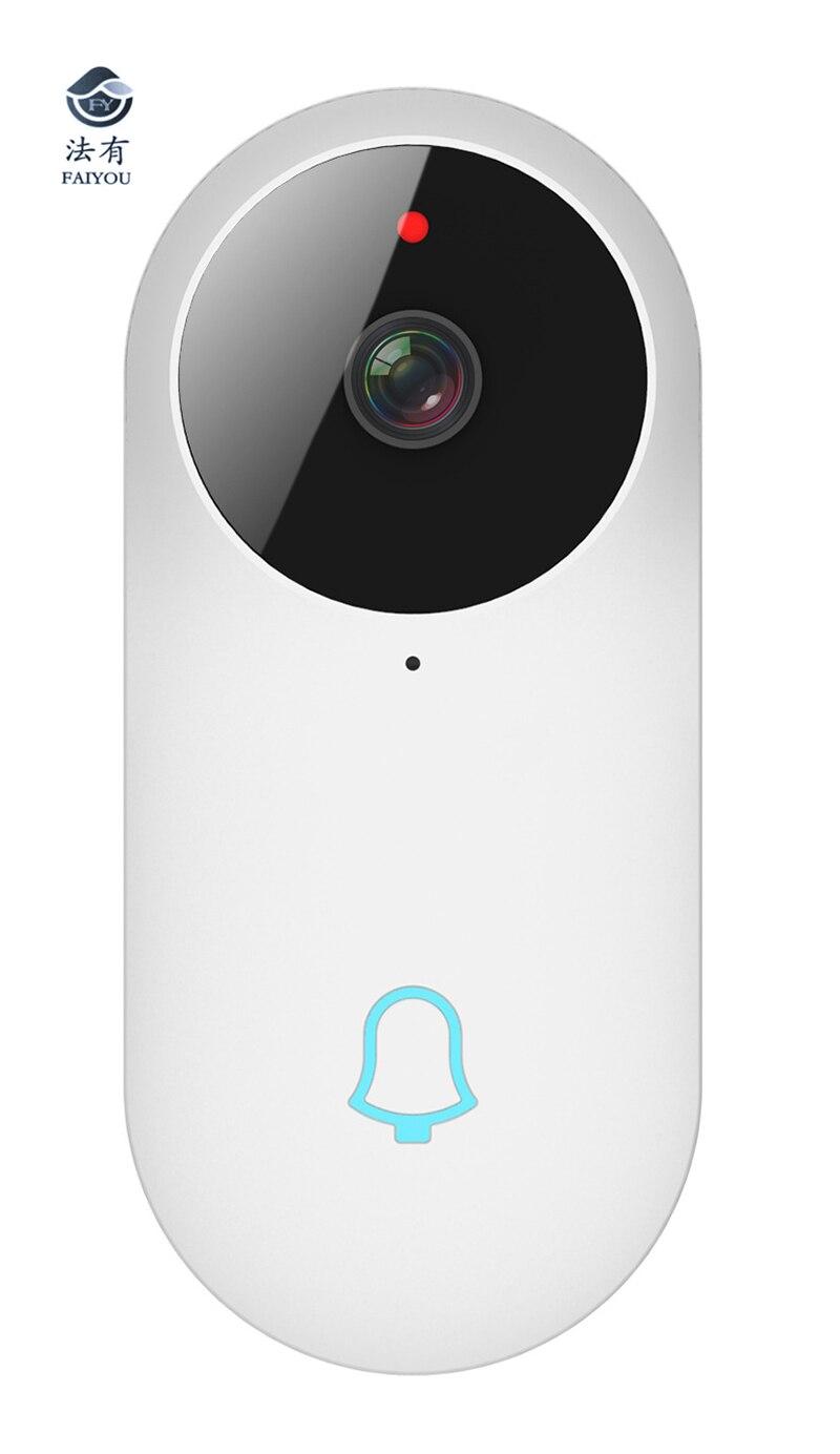 Sans fil IP Bluetooth sonnette 960P caméra vidéo téléphone WIFI P2P porte cloche Vision nocturne IR mouvement détecter alarme pour IOS Android