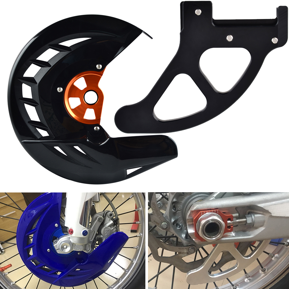 Front Rear Brake Disc Guard For KTM SX SX F XC XC F EXC EXC F