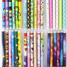 6 pcs/lot Flower Starry sky Gel Pen Cute 0.38 mm Signature Drawing School Office Supplies Stationery gift