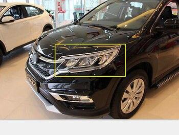 2 stücke Chrom Vorne Dezember Abdeckung Trim Fit Für für Honda CRV CR-V 2015