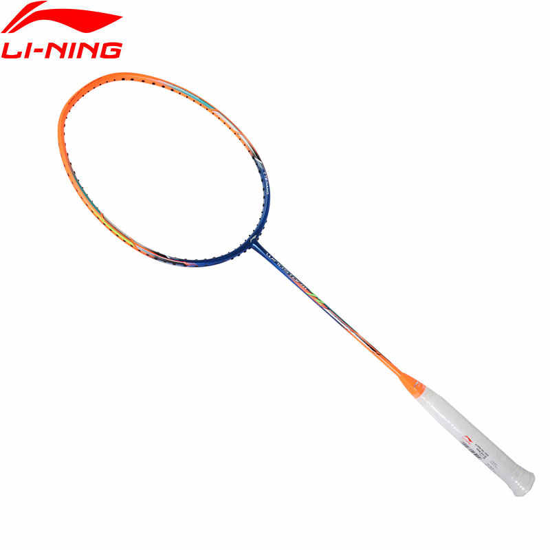 Li-Ning WindStorm 72 Professional Badminton Racket Light Weight High Tension LiNing Single Sport Rackets AYPM192