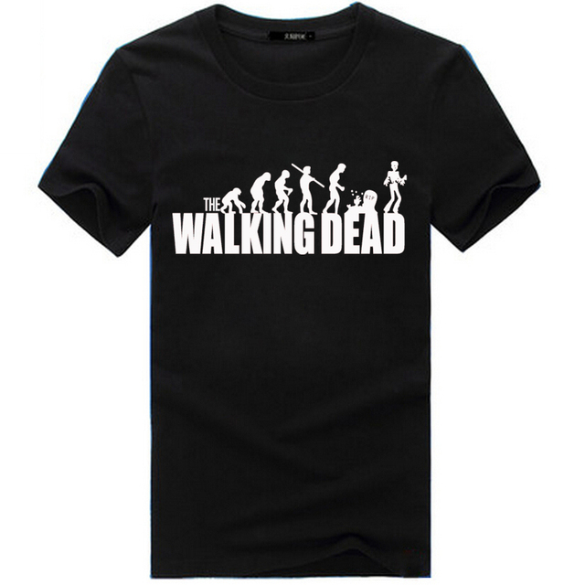The Walking Dead T Shirt For Men 3 Types Free Shipping