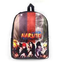 Naruto Shippuden 3D Anime Uzumaki Naruto Colorful Backpack Nintendo Game Dragon Ball Travel Danganronpa Double Shoulder