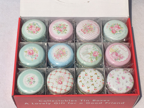36Pcs/Lot Creative Collective Tin Boxes with Lid Metal Storage tins Wedding Candy Box flower lovely Wedding Party Favor SF 125 4-in Party Favors from Home & Garden    2