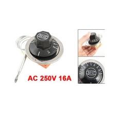 LHLL-AC 250 В 16A 30-110C Контроль Температуры Капиллярный Термостат для Электрических Печей