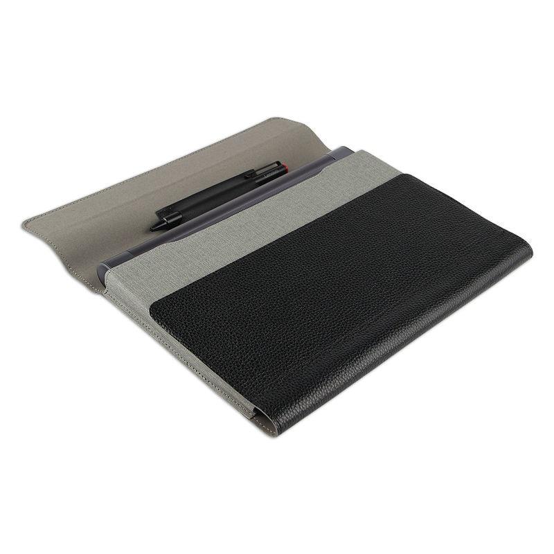 Inek Derisi Için Lenovo YOGA Tab 3 10X50F X50M Kılıf Kapak - Tablet Aksesuarları - Fotoğraf 5