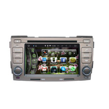 2 Din Radio For Hyundai Azera 2005 Car GPS Navigation Player With Android 4.4.4 Bluetooth Video Support Rearview Camera Free map
