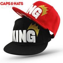 2017 Wanna One King Summer Sun Hat Baseball Cap Kids Snapback For Boys  Girls Chance The Rapper Skateboard Hip Hop Caps 48 to 53 557dd2fdfe8a