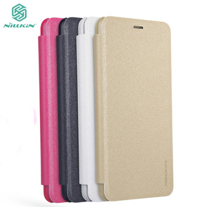 Meizu M5S Case 5.2'' NILLKIN For Meizu M5S Case Cover Housing Sparkle PU Leather Flip Cover Retailed Package