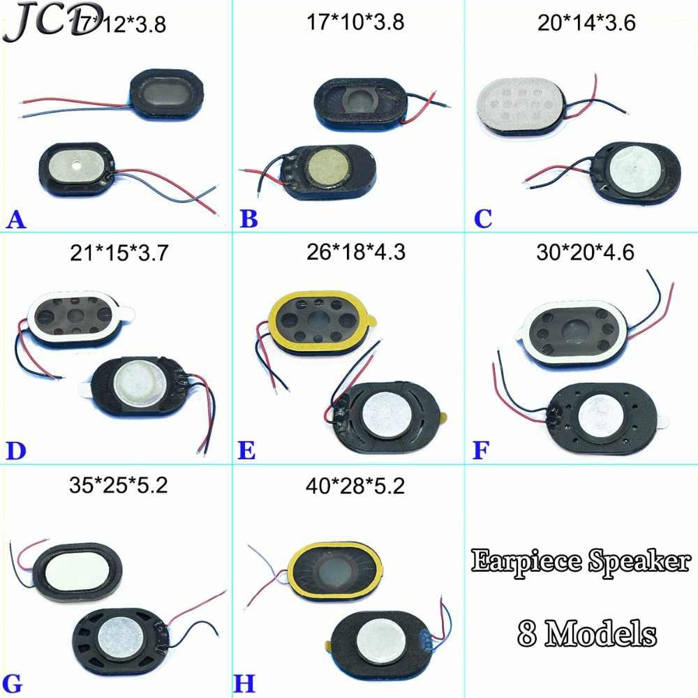 JCD עגול Loud רמקול זמזם רינגר אפרכסת רמקול עם להגמיש כבל תיקון חלק עבור טלפון וכו '18*10 * 3.8/24*15*3.7mm