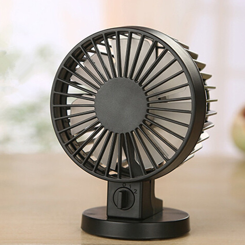 Small Electric Fans For Home : Portable usb fan creative abs mini desk fans for home