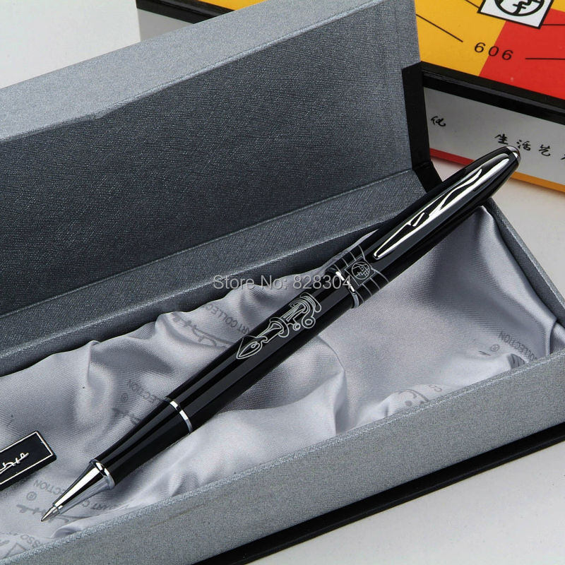цена на Free shipping high-quality fine Picasso roller pen + gift box three color options