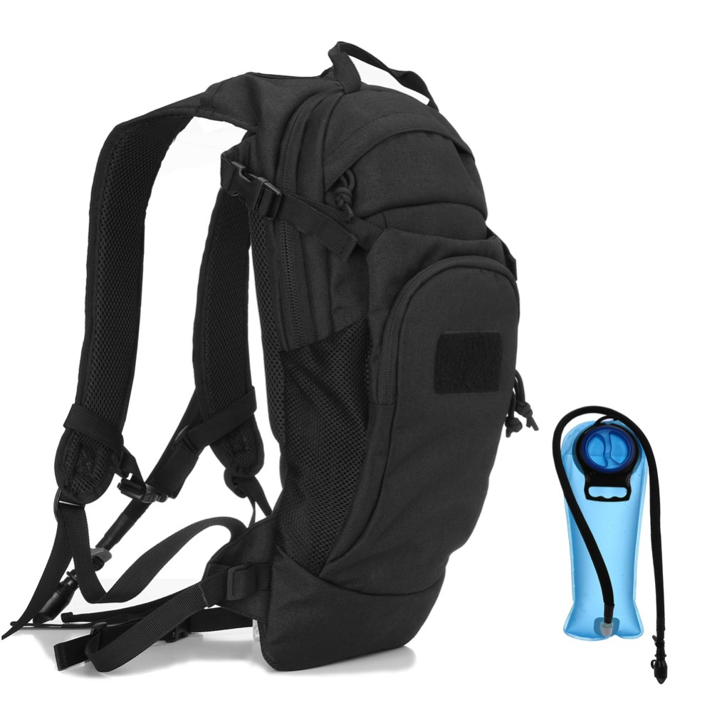 Tactical Hydration Pack Backpack,Lightweight Tactical Running Cycling Bike Hydration Pack Outdoor Military Army Airsoft Bike Hyd camouflage hydration pack multifunctional outdoor package mountaineering bags military tactical backpack cycling rucksack