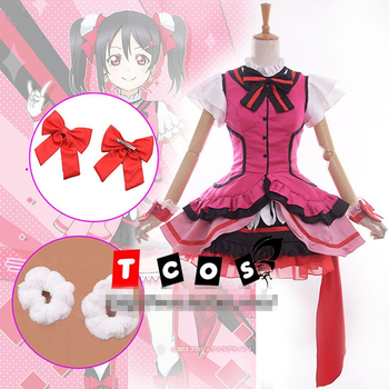 Love Live Season 2 Kira-Kira Sensation Yazawa Nico Cosplay Costume Custom-Made Free Shipping B