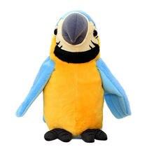 Говорящий попугай Интерактивная игрушка Поющая птица милые музыкальные