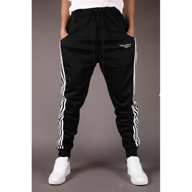 Hot Sale men's casual pants Slim Fit pants comfortable wild pants collapse men fashion Sweatpants Joggers Sportes Trousers