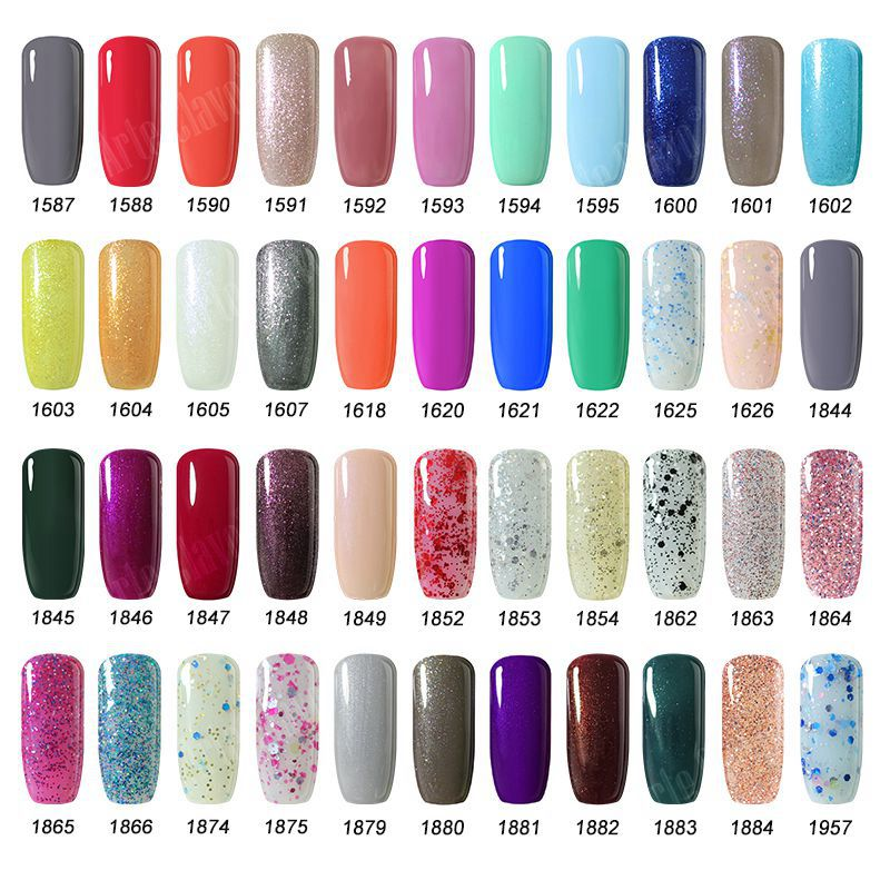 US $15.79 21% OFF|Hot Sell 15ml Arte Clavo (Choose Any 6 Colors)Color UV  Gel Nail Polish Soak Off Nail Gel 220 Colors Nail Art Design Gel Polosh-in  ...