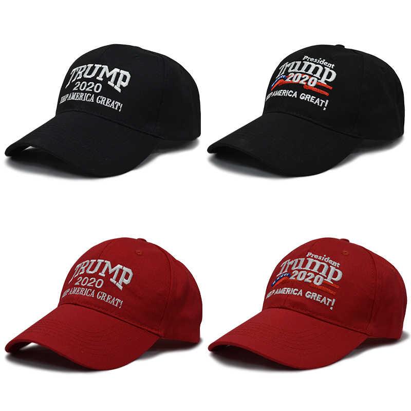 df76a39f1cc Trump 2020 Cap Cotton Baseball Cap Women Outdoor Cap Man Make America Great  Hats USA Trump