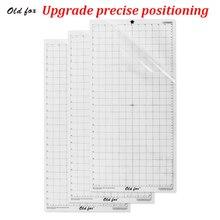 3 шт. сменный коврик для резки прозрачный клейкий коврик с измерительной сеткой 12*24 Дюймов для силуэта Камея Cricut Explore ore