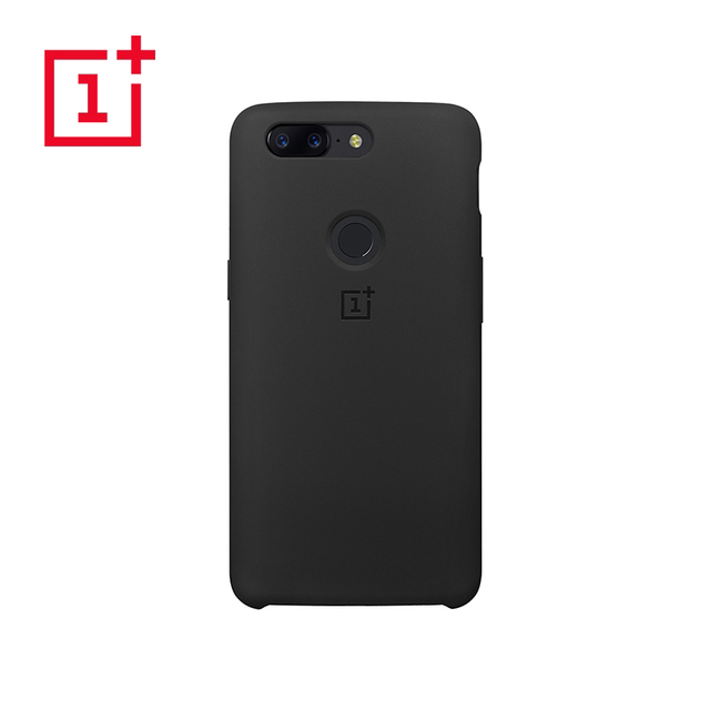 on sale a8644 14e12 US $18.8 |OnePlus 5T Silicone Case Protective Cover Original Product 6.0