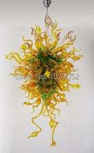 Free Shipping Modern Italian Hand Blown Art Glass Hallway Chandelier