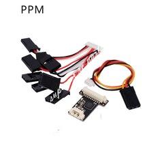 Mini PPM Encoder I2C LED Module Buzzer Switch for APM Pixhawk Pixhack Flight Controller RC font