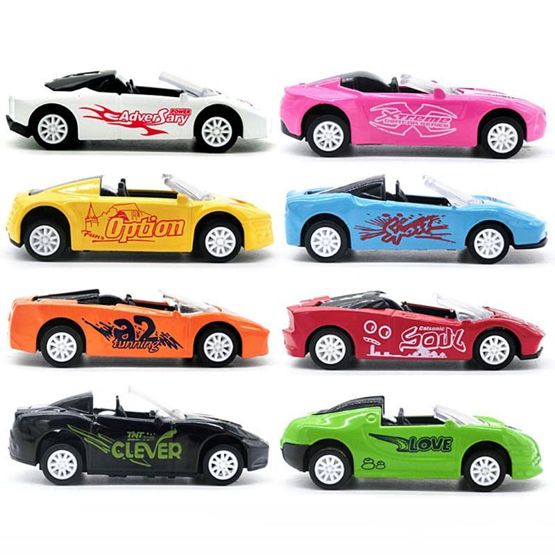 Børn Drenge Legetøj Biler Plastkøretøjer Model Træk Tilbage Bil - Legetøjsbiler