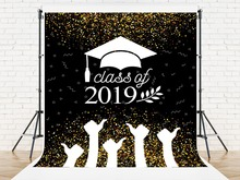 Kate 2019 Graduation Backdrop Photography Back To School Photo Studio Background Students Washable Photoraphy