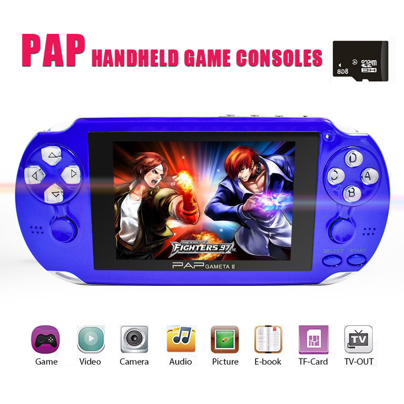 Uniscom Handheld Portable Player Video Games with Camera