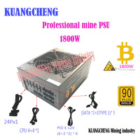 KUANGCHENG ETH Miners PSU GOLD 90 Support 8 Card Full Module Operation Applicable To ETH ETC