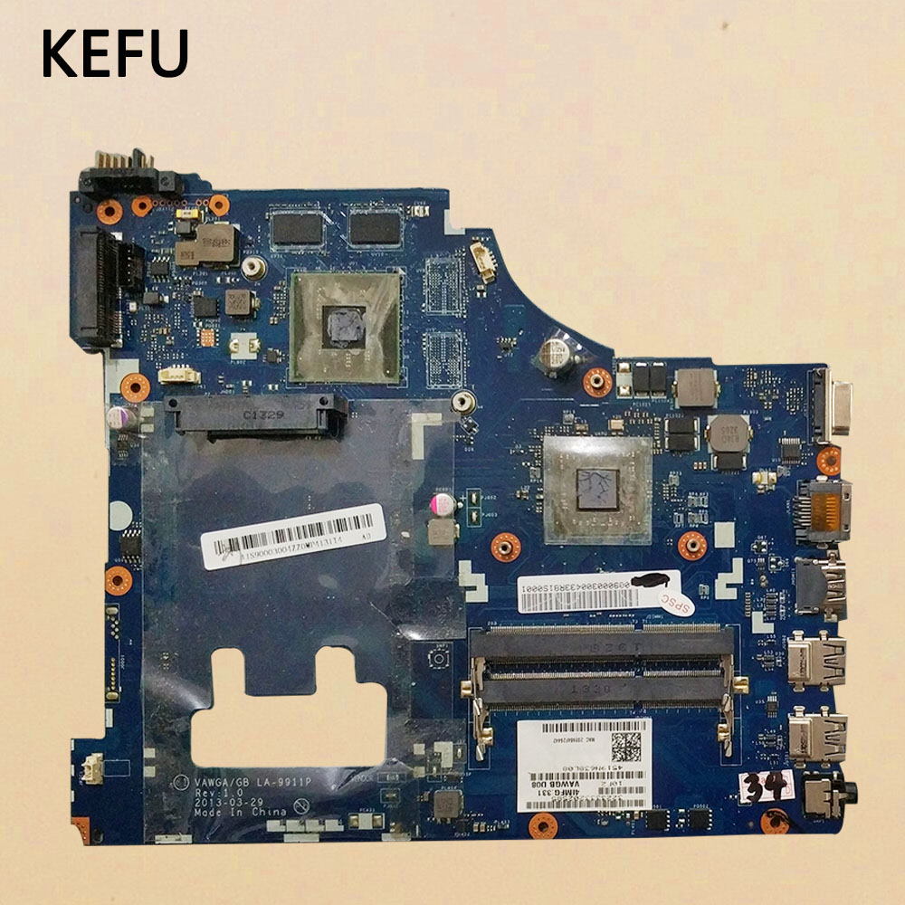 KEFU  High Quanlity LA-9911P Laptop Motherboard For Lenovo  G505 Tested Working