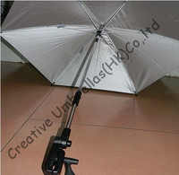 Baby stroller steering umbrella,children car umbrella 8mm steel shaft & fiberglass ribs,detachable clamp,Environment protection