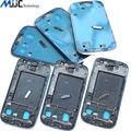 Original Replacement Faceplate Front Bezel Middle Frame Housing With Home Button for Samsung Galaxy S3 III i9300 i9305 5PCS/Lot