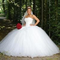 Классический сердцевидный вырез, блёстки, бисер бальным Свадебные платья Тюль Длинные принцессы блестящие свадебные платья 2019