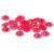 9-12mm 1000/2000 pcs Rosa AB Resina ABS Meia Pérolas de Imitação Rodada Beads Girassol Cartões De Casamento enfeites Decorações DIY